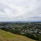 Widok na miasto z Mt Eden, Auckland.
